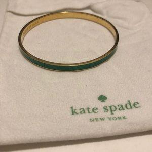 kate spade bangle - stroke of luck